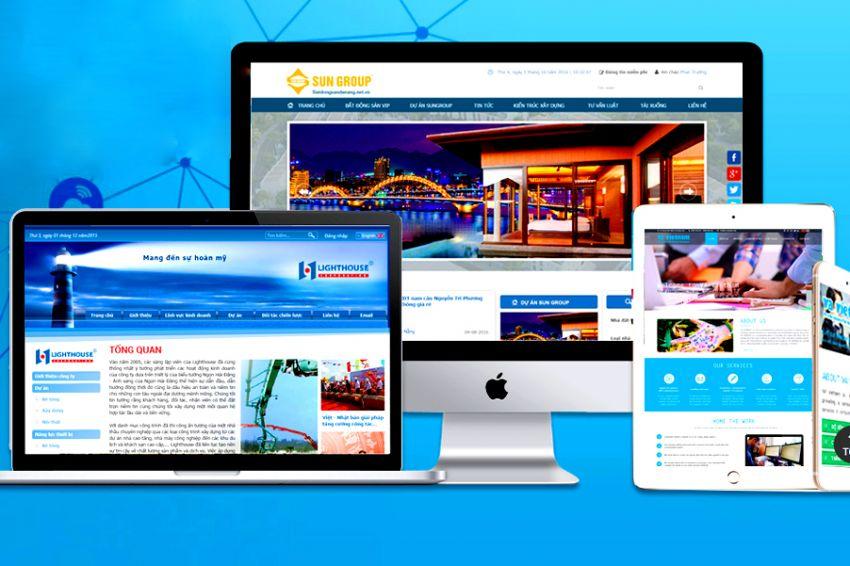 Thiết kế web bđs giá rẻ tại Đà Nẵng