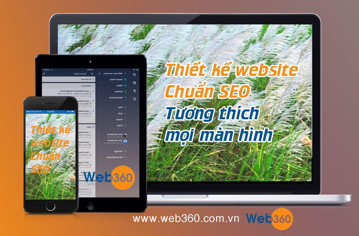 Thiết kế Website tương thích mọi thiết bị, web di động, web responsive