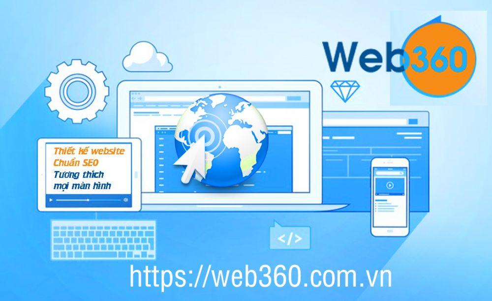 Thiết kế website thương hiệu Web360