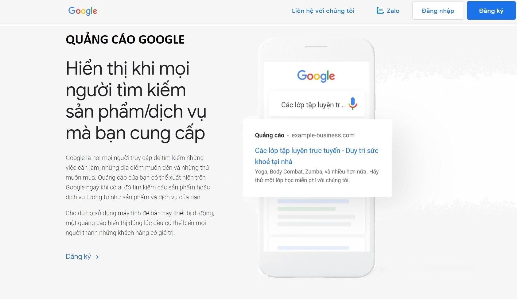 Quảng cáo Google uy tín ngay tại Đà Nẵng