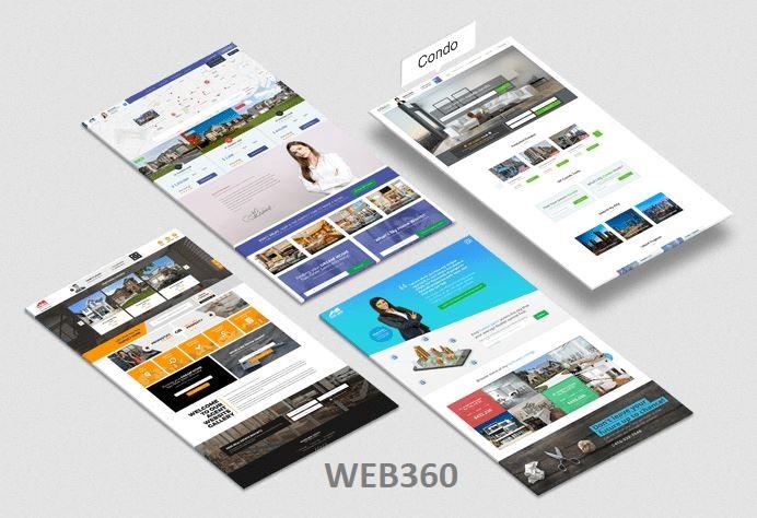 Thiết kế website bất động sản Web360
