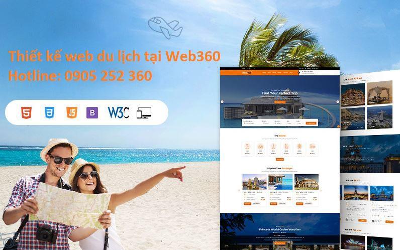 thiết kế website du lịch chuyên nghiệp tại Đà Nẵng