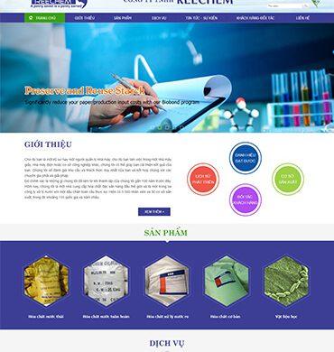 Dự án thiết kế website giới thiệu công ty