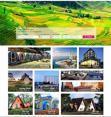 Dự án thiết kế website tour du lịch việt nam