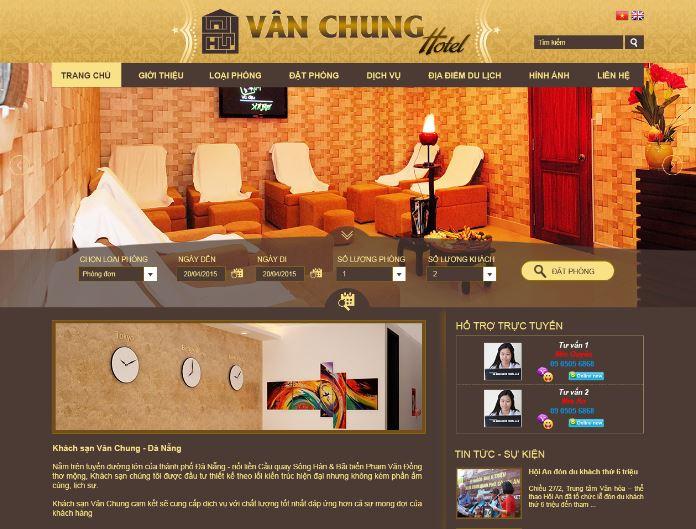 web Khách Sạn