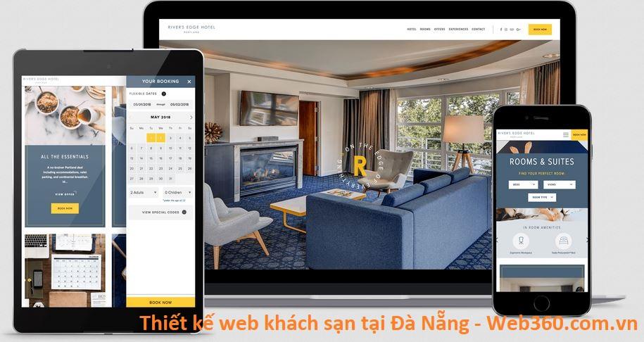 Thiết Kế Website Khách Sạn, Nhà Hàng tại Đà Nẵng